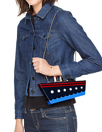 Kate Spade New York Expand Your Horizons Resin Ship Clutch