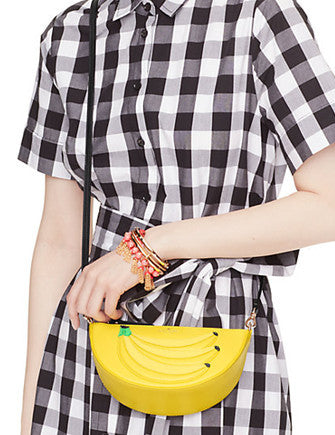 Kate Spade New York Flights of Fancy Bananas Crossbody