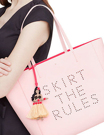 Kate Spade New York Flights of Fancy Skirt the Rules Hallie Tote