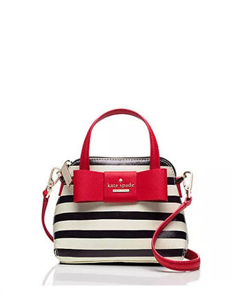 Kate Spade New York Julia Street Stripe Mini Maise Crossbody