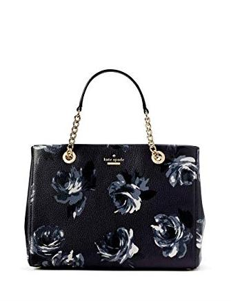 Kate Spade New York Meena Briar Lane Night Rose Satchel