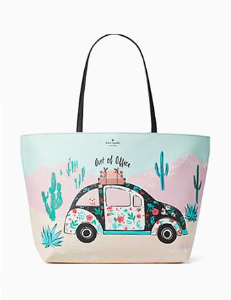 Kate Spade New York Scenic Route Out of Office New Horizons Car Tote