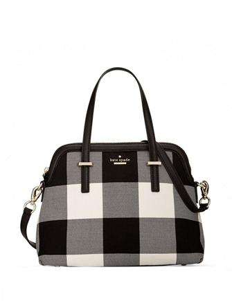 a3b815f85ed6 Kate Spade New York Cedar Street Maise Plaid Satchel