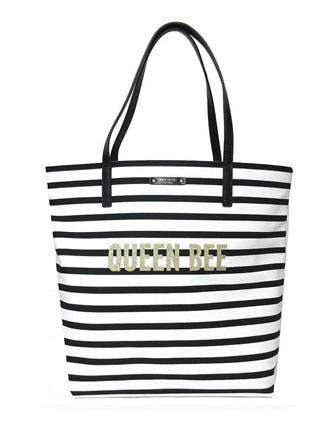 Kate Spade New York Down The Rabbit Hole Queen Bee Bon Shopper Tote