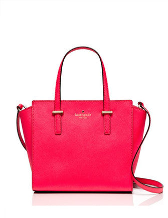 Kate Spade New York Cedar Street Crosshatched Hayden Satchel