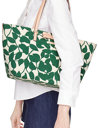 Kate Spade New York South Poplar Street Francis Leaves Tote