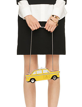 Kate Spade New York Steel the Spotlight Taxi Clutch