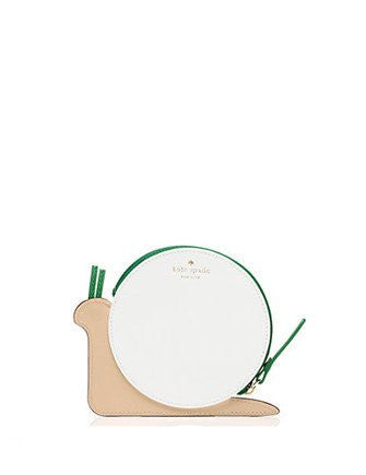 Kate Spade New York Turn Over A New Leaf Snail Coin Purse