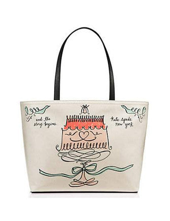 Kate Spade New York Wedding Belles Cake Francis Tote