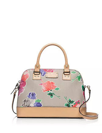 Kate Spade New York Wellesley Floral Fabric Small Rachelle Satchel