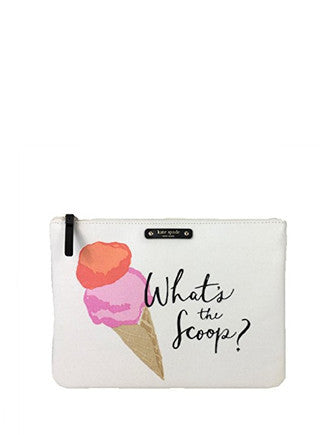Kate Spade New York Flavor Of The Month What's The Scoop Gia Pouch