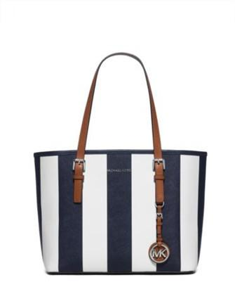 Michael Michael Kors Jet Set Travel Stripe Small Travel Tote