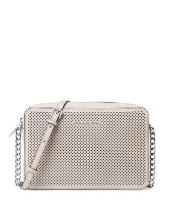 Michael Michael Kors Jet Set Perforated Large Crossbody