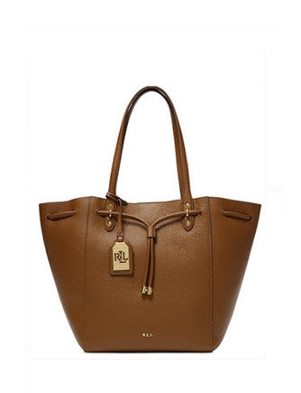 Lauren Ralph Lauren Leather Oxford Tote