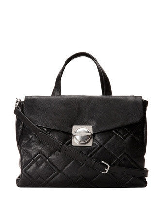 Marc by Marc Jacobs Circle In Square Quilted Satchel