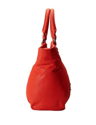 Marc by Marc Jacobs Classic Q Red Lizard Fran Handbag
