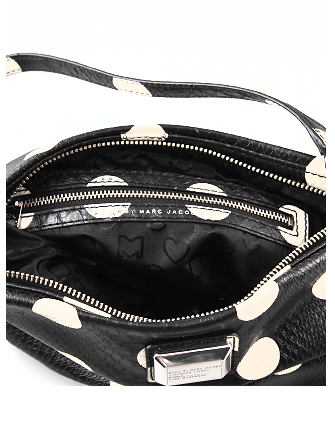 Marc by Marc Jacobs Dotty Polka Dot Snake Embossed Sia Crossbody