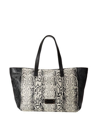 Marc by Marc Jacobs Here's the T Snake Print Leather Tote