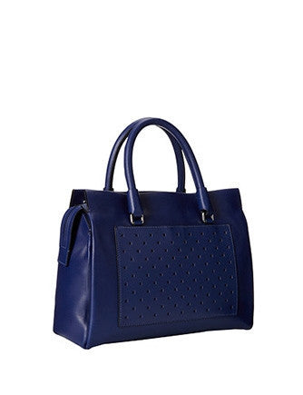 Marc by Marc Jacobs Know When to Fold 'Em Perforated Jina Satchel