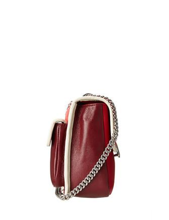Marc by Marc Jacobs Rebel 24 Ostrich-Print Flap Bag Crossbody