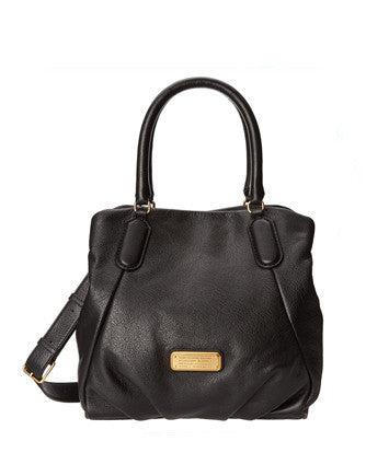 Marc by Marc Jacobs New Q Fran Leather Shoulder Bag