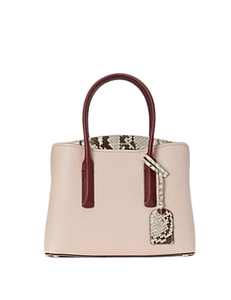Kate Spade New York Margaux Embossed Snake Medium Satchel