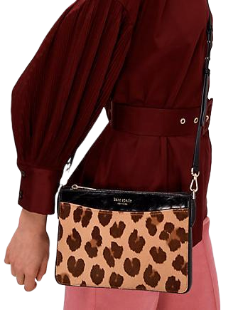 Kate Spade New York Margaux Haircalf Medium Convertible Crossbody