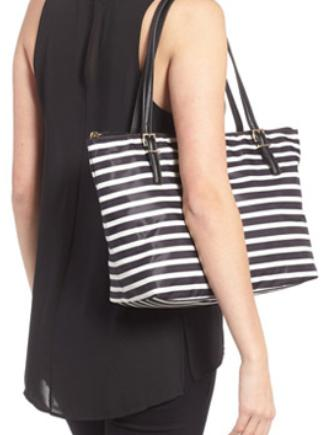 Kate Spade New York Watson Lane Small Maya Stripe Tote