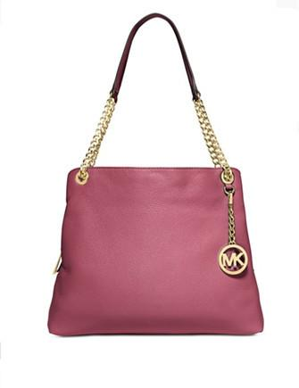 Michael Michael Kors Large Jet Set Item Leather Shoulder Tote