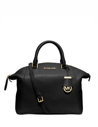 Michael Michael Kors Riley Medium Leather Satchel