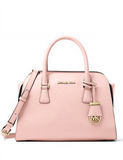 Michael Michael Kors Harper Medium Leather Satchel Bag