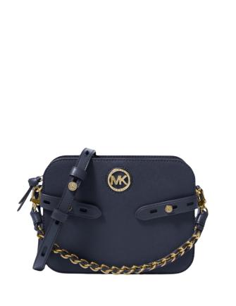Michael Michael Kors Carmen Camera Leather Crossbody
