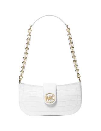 Michael Michael Kors Carmen Leather Pouchette