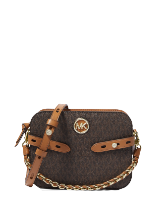 Michael Michael Kors Carmen Signature Camera Crossbody