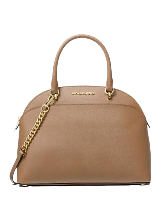 Michael Michael Kors Emmy Large Saffiano Leather Dome Satchel