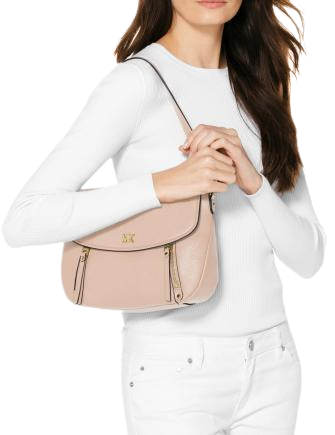 Michael Michael Kors Evie Pebble Leather Shoulder Bag