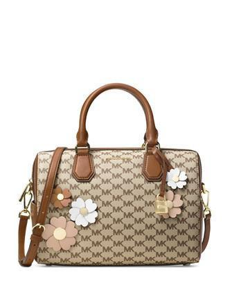 Michael Michael Kors Flora Applique Mercer Medium Duffle