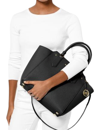 Michael Michael Kors Hayes Pebble Leather Tote