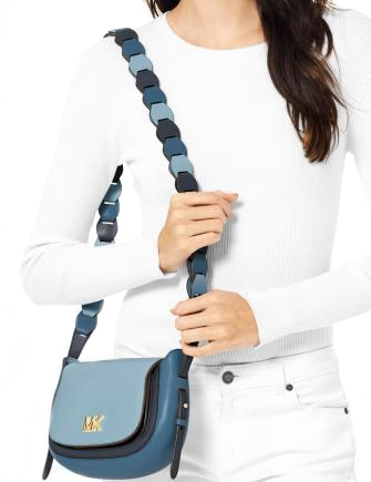 Michael Michael Kors Jolene Tricolor Saddle Crossbody