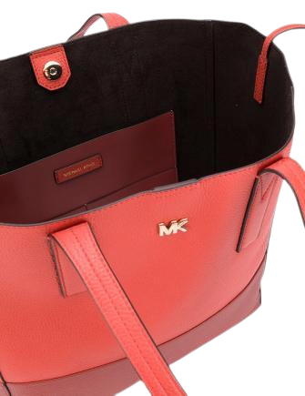 Michael Michael Kors Junie Bicolor Pebble Leather Tote
