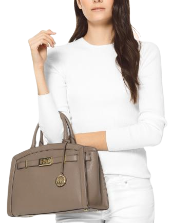 Michael Michael Kors Karson Pebble Leather Satchel