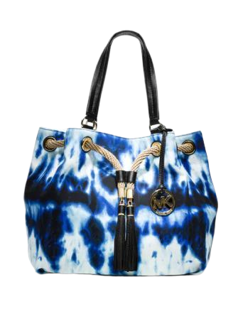 Michael Michael Kors Large Marina Tie Dye Gathered Tote