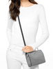 Michael Michael Kors Large Metallic Crossbody Clutch
