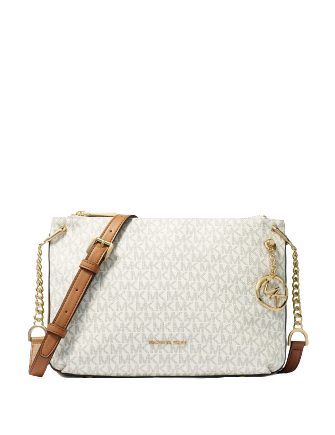 Michael Michael Kors Lillie Large Signature Messenger Bag