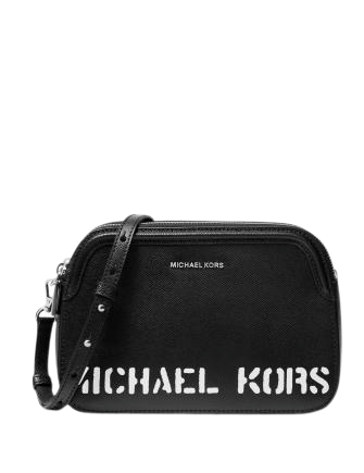 Michael Michael Kors Logo Double Zip Crossbody