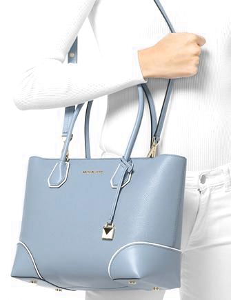 218e4971e0e3 Michael Michael Kors Mercer Gallery Medium East West Top Zip Tote ...