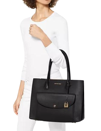 Michael Michael Kors Mercer Pocket Leather Tote