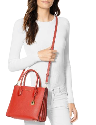 Michael Michael Kors Mercer Small Leather Accordion Tote