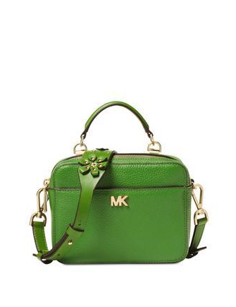 Michael Michael Kors Mini Floral Guitar Strap Crossbody