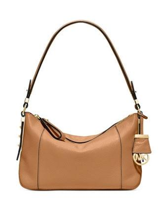Michael Michael Kors Bowery Medium Pebbled Leather Shoulder Bag